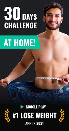Ứng dụng giảm cân cho nam giới - Giảm cân trong 30 ngày