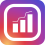 icon Followers & Likes Tracker for Instagram - Repost