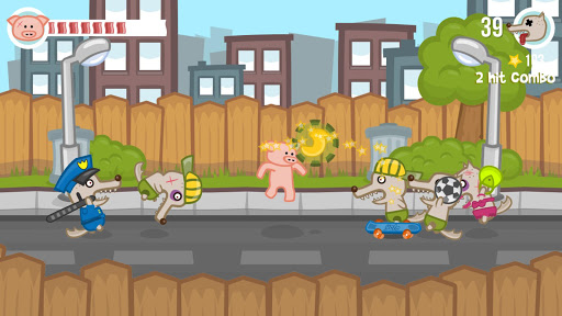 Iron Snout + Pig Fighting Game