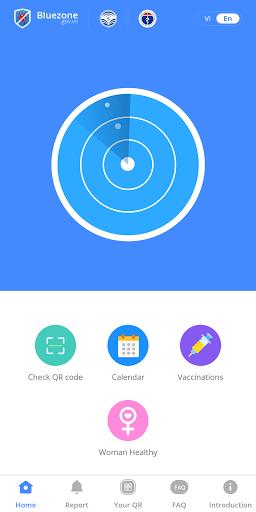 Bluezone - Mặt nạ điện tử